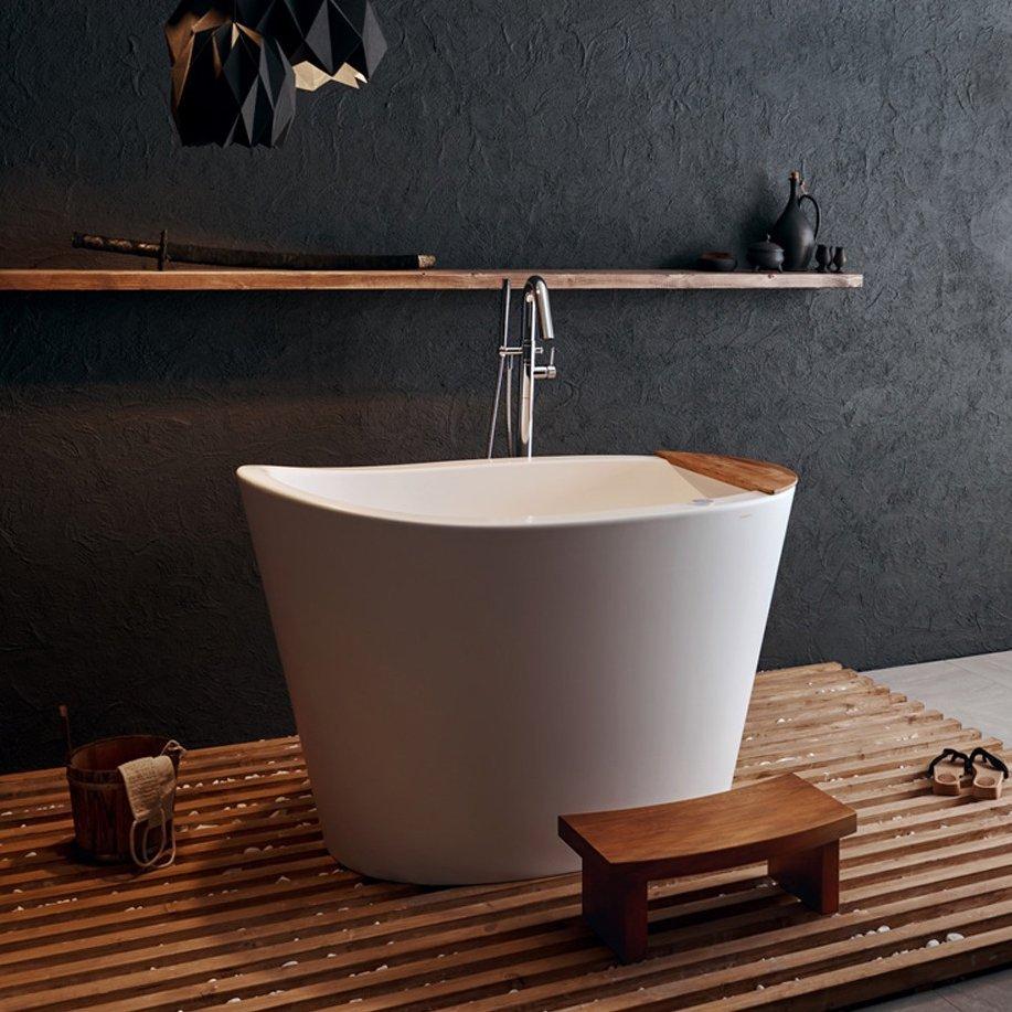 True Ofuro Tranquility Heated Whirlpool Bathtub