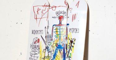 Basquiat Robot Triptych Skateboards