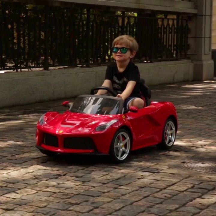 12V Ferrari LaFerrari Kids Electric Ride On Car