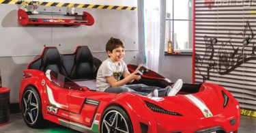 GTS Race Car Kids Bed
