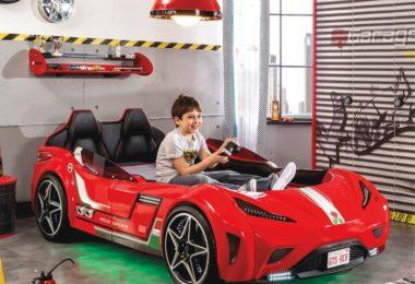 GTS Race Car Kids Bed