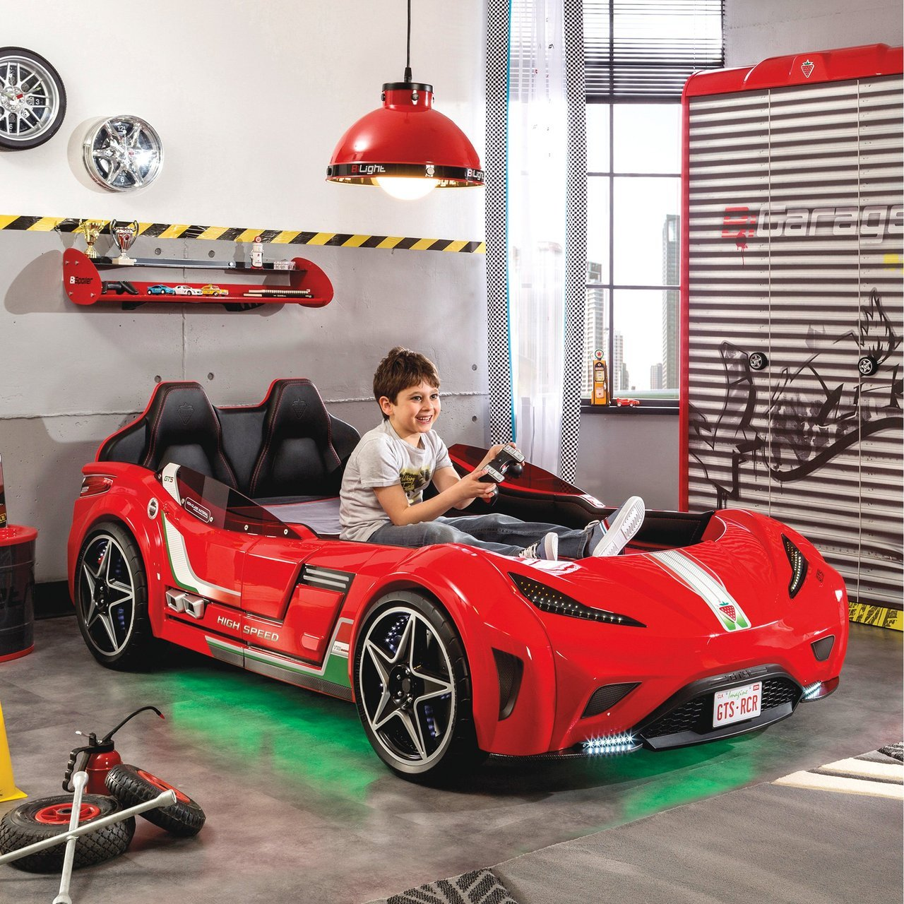 Gts Race Car Kids Bed 187 Petagadget