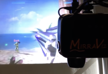 MirraViz MultiView Gaming System