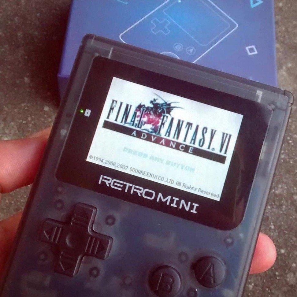 RetroMini Handheld Game Player