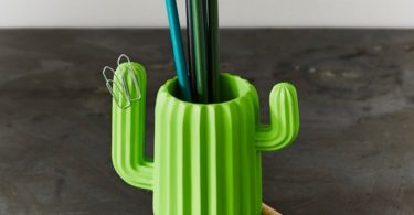 Mustard Pen Holder Desktop Organiser