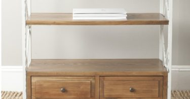 Safavieh Safavieh American Home Collection Chandra Oak and White Smoke Console Table