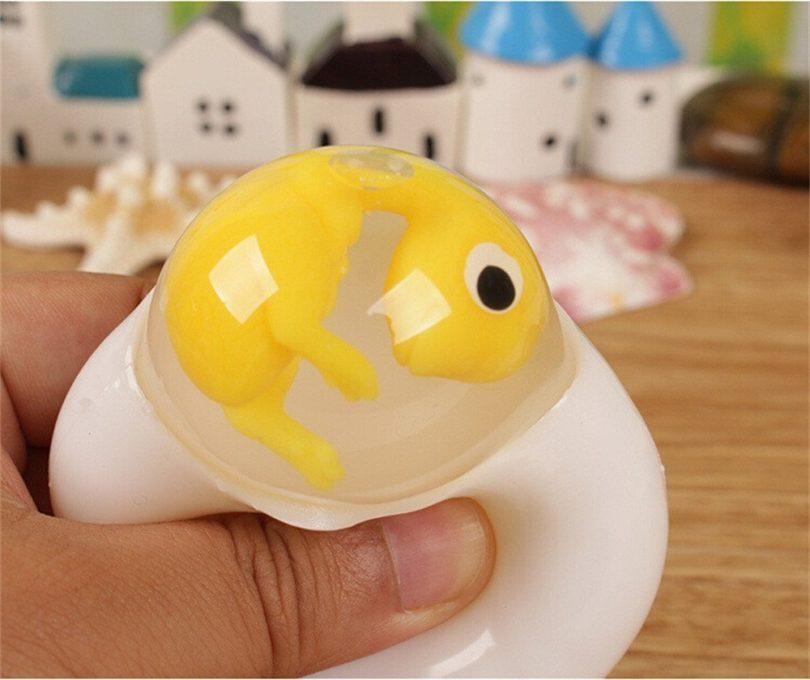 ZOMUSA Novelty Creative Transparent Egg Toy