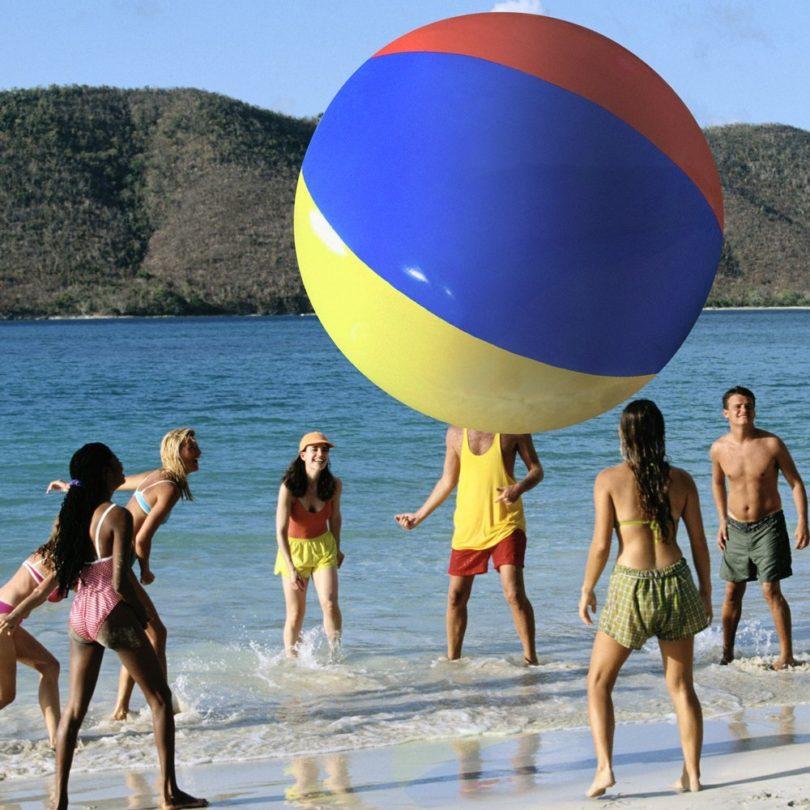 PoolCandy 12 Inches Illuminated Beach Ball