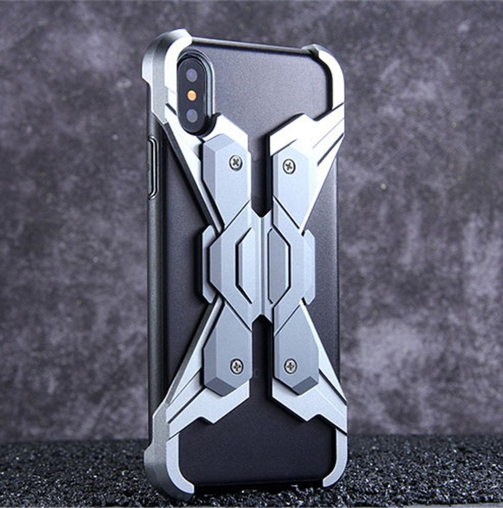DAYJOY Cool Design Wing style Armor Case for IPhone X