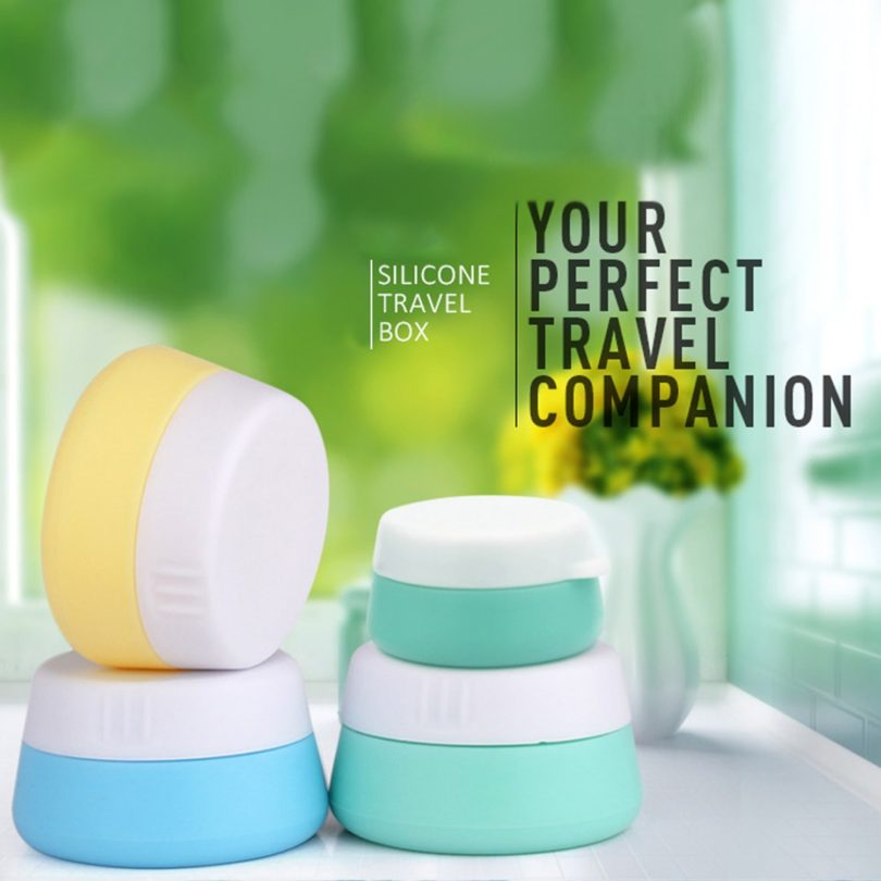 Mudder Silicone Cosmetic Containers Cream Jar