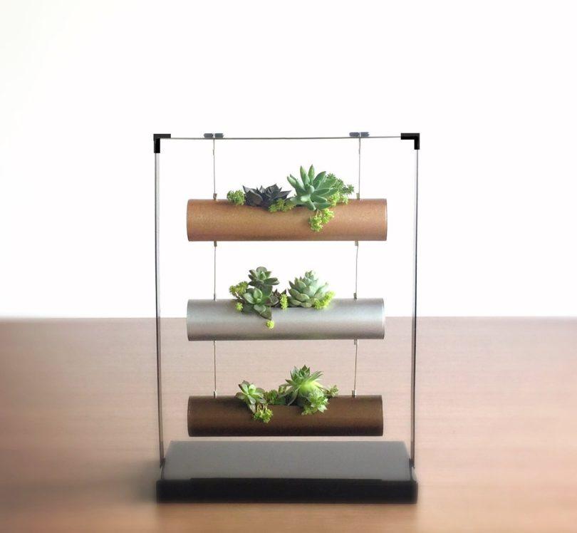 SOMMERLAND Vertical Garden Planting Cylinder Display