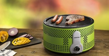 Gourmia GBQ330 Portable Charcoal Electric BBQ Grill