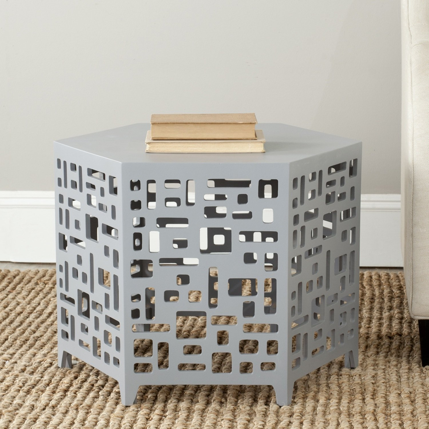 American Homes Collection Kelby End Table