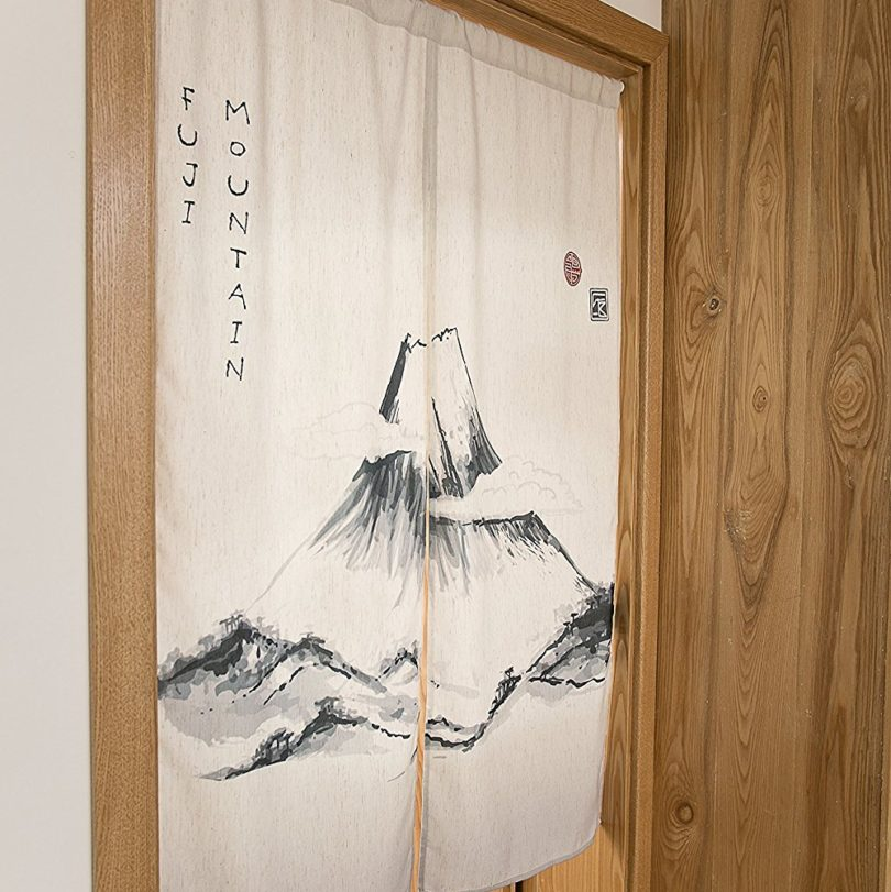 KARUILU home Japanese Noren Doorway Curtain / Tapestry 33.5″ Width x 47.2″ Long