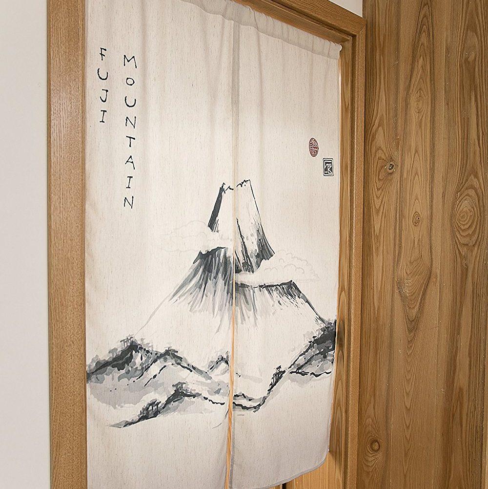 KARUILU home Japanese Noren Doorway Curtain / Tapestry 33.5″ Width x 47.2″ Long