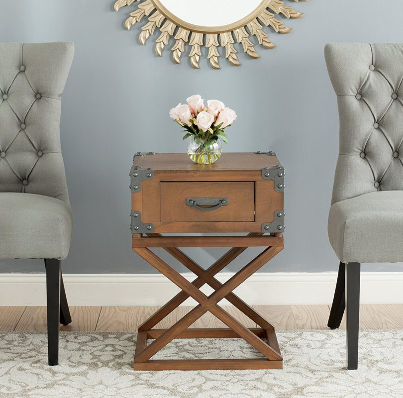Safavieh American Homes Collection Dunstan Autumn Leaf Accent Table