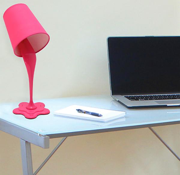 LumiSource LS-L-WOOPSY PR Whoopsy Desk Lamp