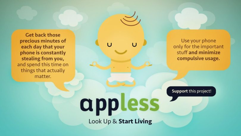 APPLESS – Be free from the screen
