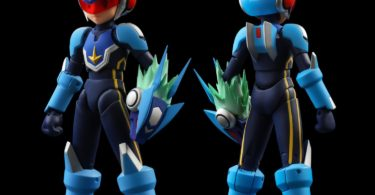 Mega Man Star Force 4-Inch Nel Action Figure