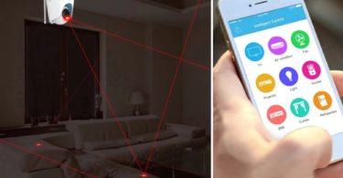 VStarcam E27 Smart Led Color Change Bulb WiFi Camera Night Vision