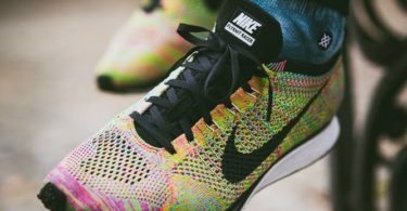 NIKE Unisex Flyknit Racer Running Shoes