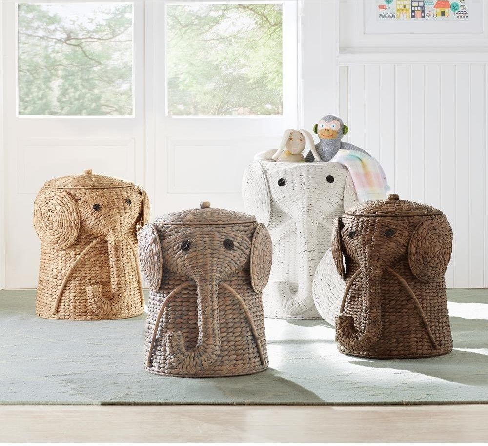 Animal Bathroom Hamper