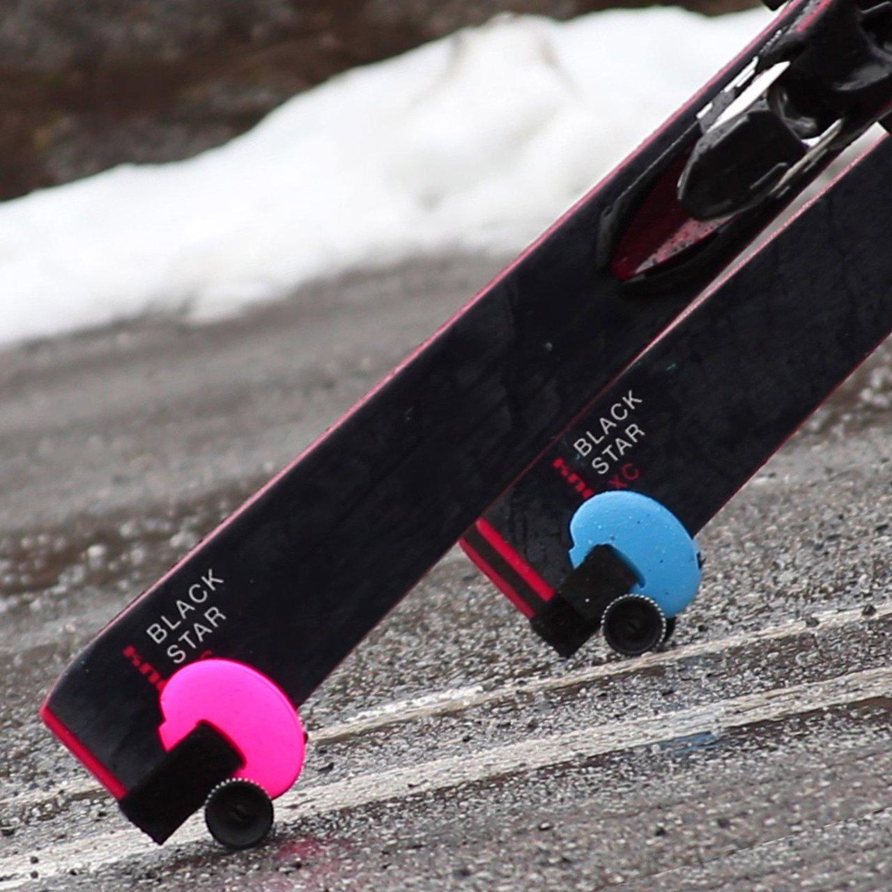 Skiddi Portable Ski Trolley