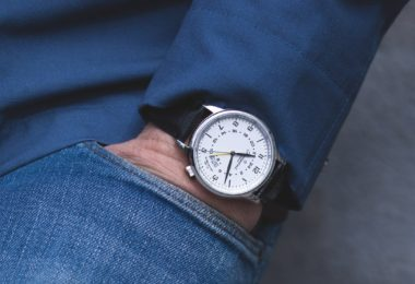 Globetrotter GMT White watch by Fromanteel Amsterdam