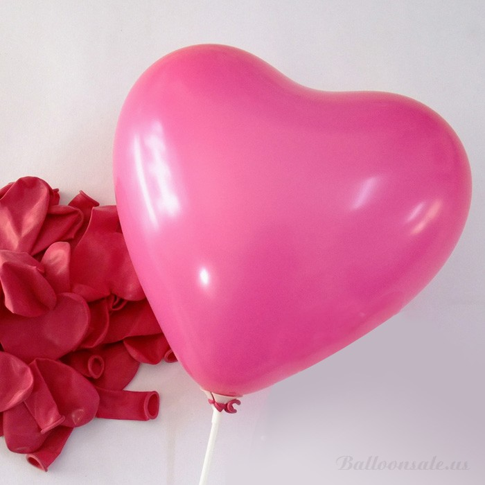 Sweetheart Heart Shaped Latex Balloon