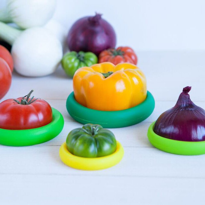 Food Huggers Silicone Food Savers