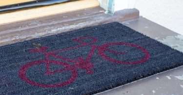 The Red Bike Coco Doormat