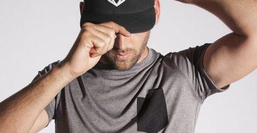 Strongbody Carbon Black Snapback Hat