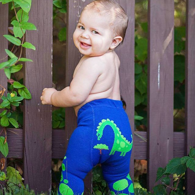 Cobalt Hungry Dino Legging