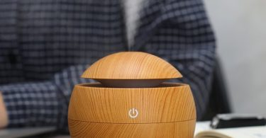 Wood Grain Desktop Humidifier