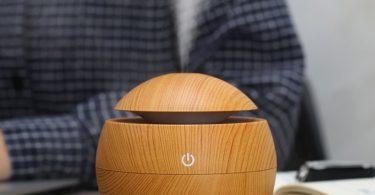 Wood Grain Desktop Humidifier