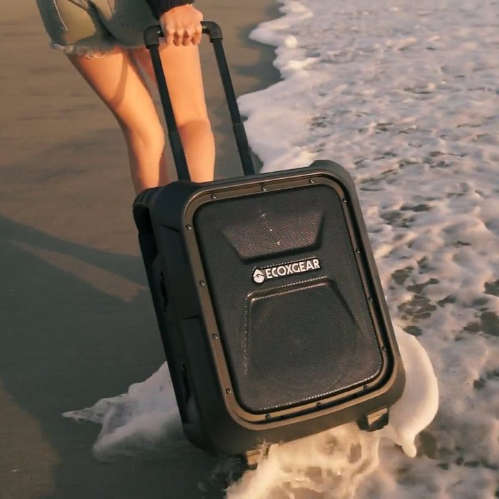 EcoBoulder Waterproof Portable BT Speaker by ECOXGEAR