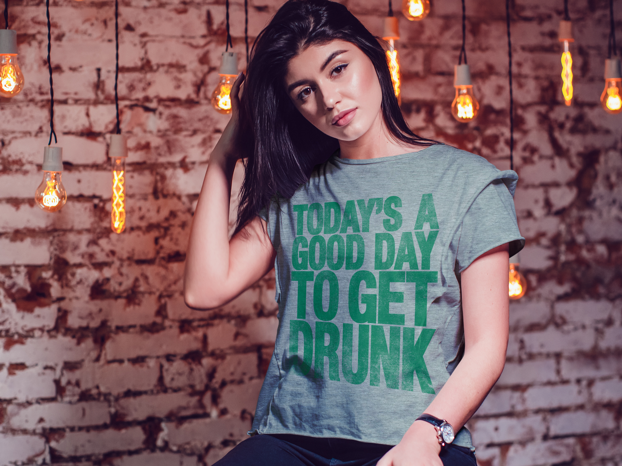 Good Day To Get Drunk St. Patrick's Day T-shirt