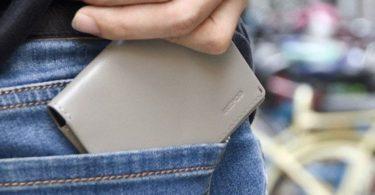 Slate Ikepod 03 Slim Sleeve Wallet