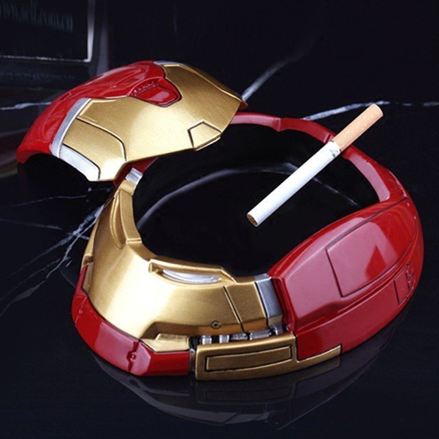 Resin Ironman Ashtray