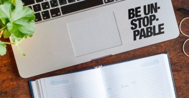 Be Unstoppable Laptop Decal