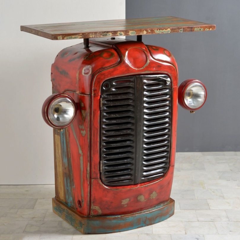 Tractor Console Table