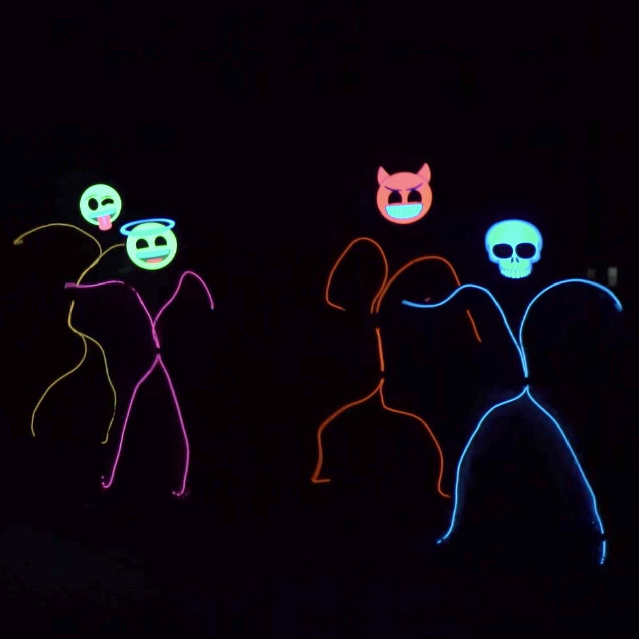 Emoji Stick Figure Costumes