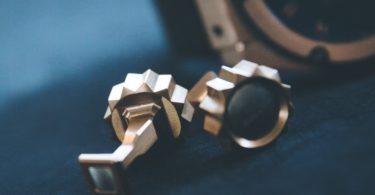 Series 8 Titanium Cufflinks