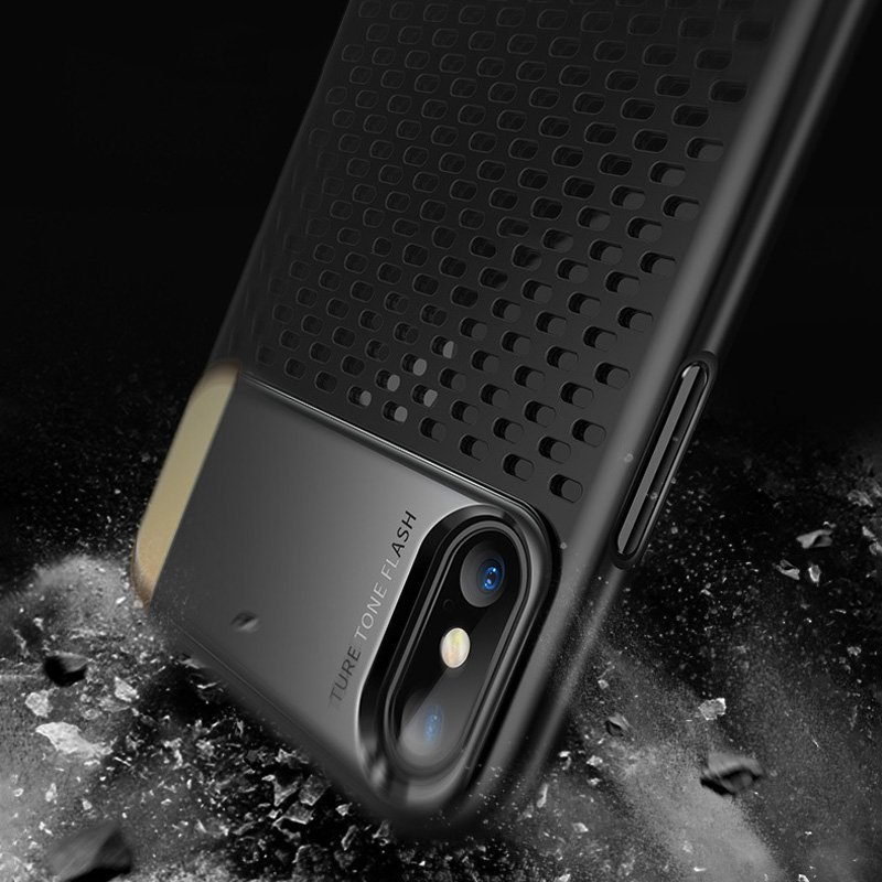 Foldable Stand iPhone X Cooling Case