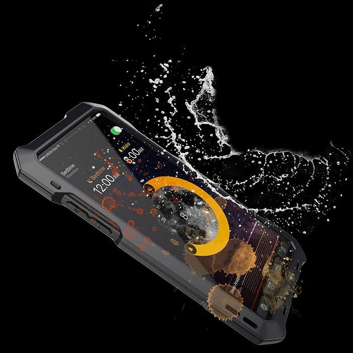 iPhone X Waterproof Kit Case With 3 Camera Lenses