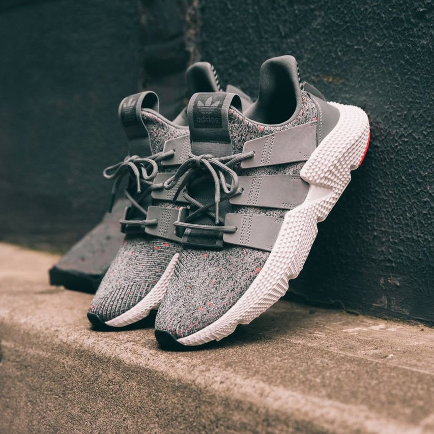 Adidas Originals Prophere Grey/Solar Red