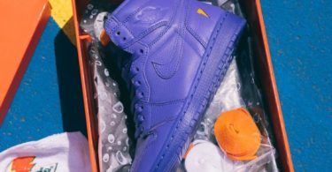 Air Jordan 1 Retro Hi X Gatorade Rush Violet