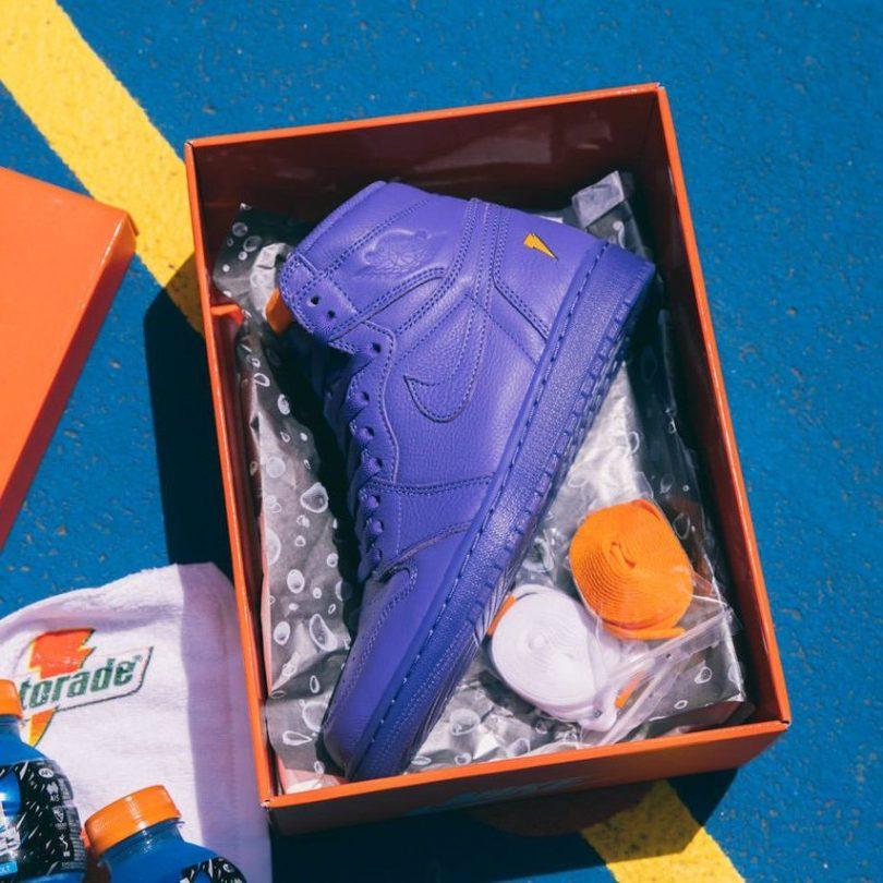 Air Jordan 1 Retro Hi X Gatorade Rush Violet