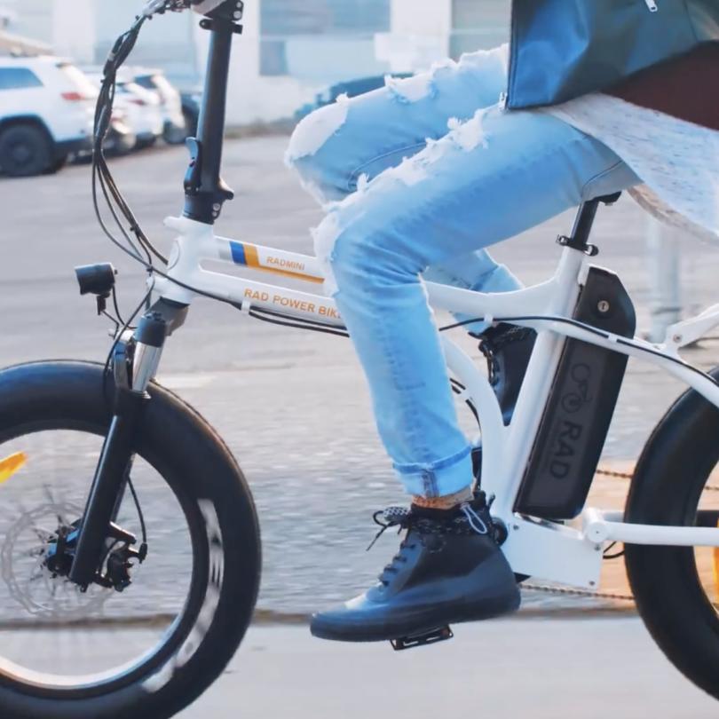 RadMini Electric Folding Flat Bike