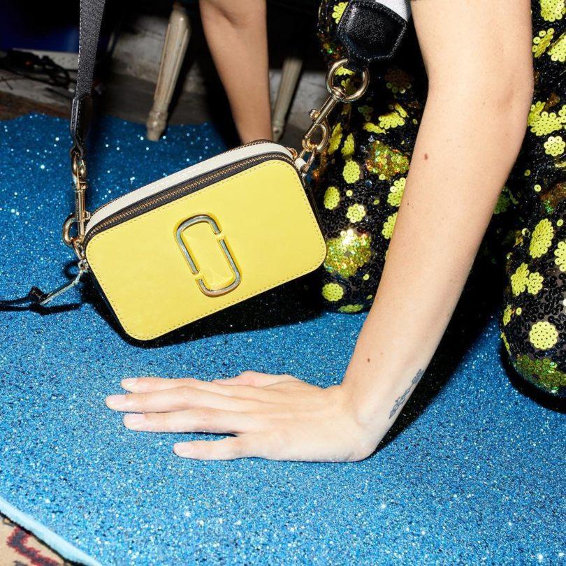 Marc Jacobs Yellow Small Snapshot Bag